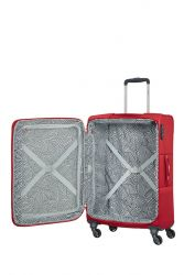 Samsonite Base Boost, lentolaukku, Capri Red Stripes