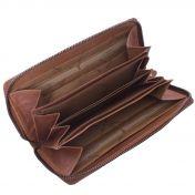 The Chesterfield Brand Nova, nahkainen RFID-lompakko, konjakki