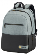"American Tourister City Drift Laptop backpack 15.6"", musta/harmaa"