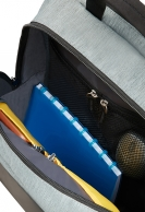 "American Tourister City Drift Laptop backpack 15.6"", musta/harmaa"