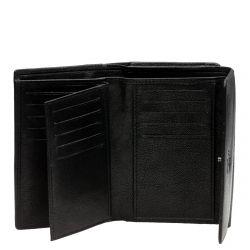 A. Eriksson nahkainen RFID-lompakko, 810-668, musta