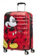 American Tourister Wavebreaker Disney keskisuuri matkalaukku, Mickey comics red
