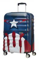 American Tourister Wavebreaker Disney, keskisuuri matkalaukku, Captain America