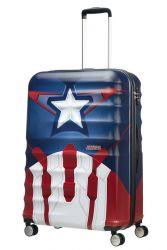 American Tourister Wavebreaker Disney, suuri matkalaukku, Captain America