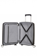American Tourister Soundbox, lentolaukku, Bass black