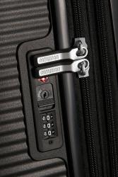 American Tourister Soundbox, keskisuuri matkalaukku, Bass black