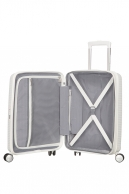 American Tourister Soundbox, lentolaukku, Pure white