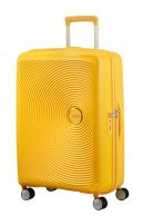 American Tourister Soundbox, suuri matkalaukku, Golden yellow