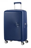 American Tourister Soundbox, keskisuuri matkalaukku, Midnight navy