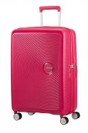 American Tourister Soundbox, keskisuuri, Lightning pink