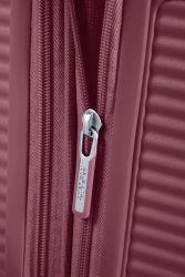 American Tourister Soundbox, suuri matkalaukku, Dark Burgundy