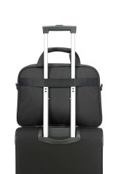 "American Tourister AT Work laptop bag 15.6"", musta"