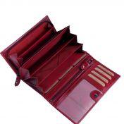 The Chesterfield Brand Vilai nahkainen RFID-suojattu lompakko, punainen