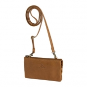dR Amsterdam nahkainen lompakkolaukku, 912759, kameli