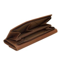 The Chesterfield Brand Dahlia, nahkainen lompakko, konjakki