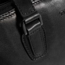 The Chesterfield Brand Flint nahkainen olkalaukku, C48.0841, musta