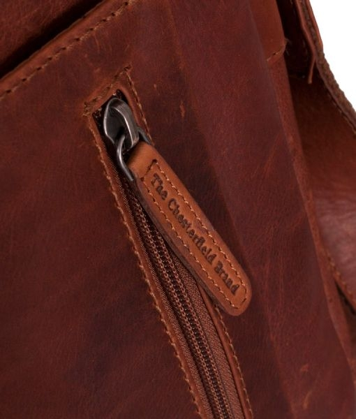 Olkalaukku Iso : The chesterfield brand richard iso nahkainen olkalaukku