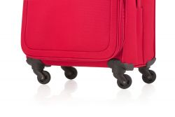 CarryOn Air suuri matkalaukku, cherry red