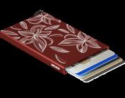 Secrid Cardprotector, Laser magnolia bordeaux