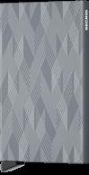 Secrid Cardprotector, Laser Zigzag titanium