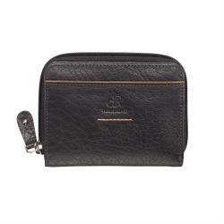 dR Amsterdam nahkainen lompakko, 91184, musta