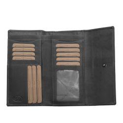 The Chesterfield Brand Dahlia, RFID nahkainen lompakko, musta