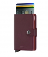 Secrid Miniwallet, Original Bordeaux