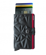 Secrid Miniwallet, Prism Black-Red