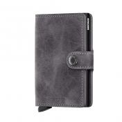 Secrid Miniwallet, Vintage Grey-Black