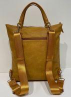 Ulrika laukku/reppu, 36-6666-31, keltainen