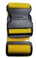 Fabrizio matkalaukkuremmi, keltainen
