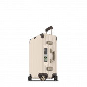 Rimowa Limbo Electronic Tag, keskikokoinen 60 l, Creme White