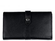 A. Eriksson RFID-nahkalompakko 112-615, musta