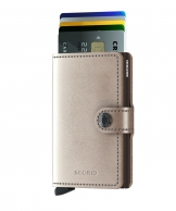 Secrid Miniwallet, Metallic Champagne-Brown