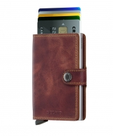 Secrid Miniwallet, Vintage Brown