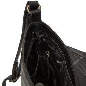 The Chesterfield Brand Manta nahkainen olkalaukku, musta