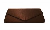 Juhlalaukku Maria Oscar 4911 Dark Chocolate, tummanruskea