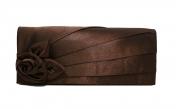 Juhlalaukku Maria Oscar 9088, tummanruskea