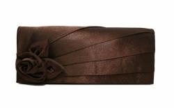 Juhlalaukku Maria Oscar 9088, tumma suklaa