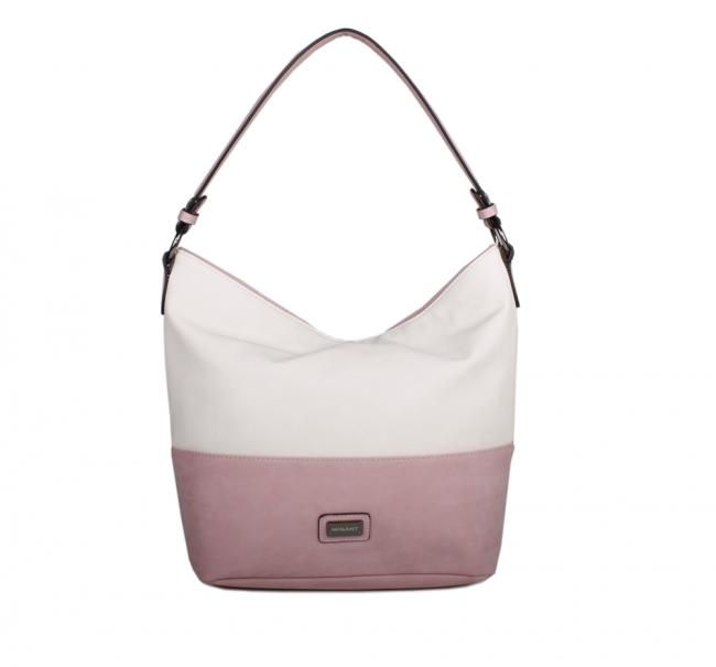Migant laukku sokos : Migant mg olkalaukku pinkkivalkoinen bebag fi