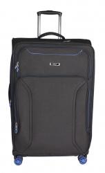 Migant MGT-16 suuri matkalaukku, musta/sininen