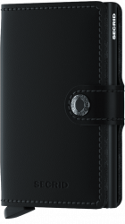 Secrid Miniwallet, Matte black