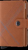 Secrid Miniwallet, Stitch Linea Caramello
