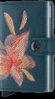 Secrid Miniwallet, Stitch Magnolia Petrolio