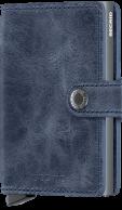 Secrid Miniwallet, Vintage Blue