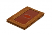 Garzini Essenziale ID window RFID-lompakko, Camel Brown