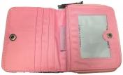 Nabo lasten lompakko, 2618, pöllöt, vaaleanpunainen