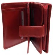 Nabo nahkainen RFID-lompakko, NK-185, punainen