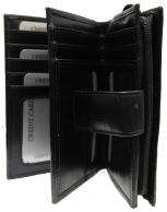 Nabo nahkainen RFID-lompakko, NK-187, musta