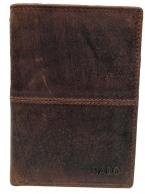 Nabo, miesten nahkainen RFID lompakko, NK-205, ruskea